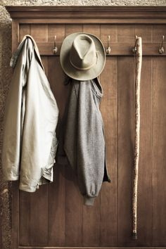 catalpastreet:    After my great-grandfather,John,died,my great-grandmother, Pearl,kept all of his things just as he had left them, for27 years. Hat and coathanging by the door, wallet on the dresser, car keys on the kitchen window sill where he'd taken them out of his pocket to wash his hands.
