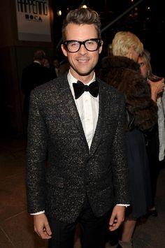 Brad Goreski.  I just adore the tweed!