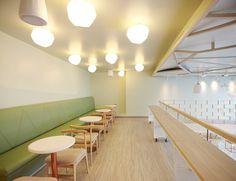 Sugar crystals inspired the interior design of this new dessert bar @Latorredecora