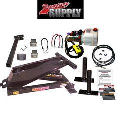 8 Ton (16,000 lb) Hydraulic Power Hoist Kit – Model PH516, Premium Supply