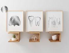 Dentist Art, Gifts For Dentist, Pediatric Dentist, Clinic Interior Design, Clinic Design, Dental Office Decor, Office Art, Dental Anatomy, Dental Office Design