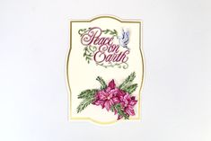 Part of the Over the Mantelpiece Collection by Tattered Lace Tattered Lace Cards, Christmas Cards, Xmas, Card Maker, Carnations, Cardmaking, Birthday Cards, Crafting, Places