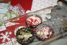 Coffee Girl Crafts: A blog about pretty things: Bottlecap Magnets Project