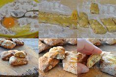 Biscotti quaresimali napoletani Italian Cookie Recipes, Italian Cookies, Italian Donuts, Dessert Recipes, Desserts, I Love Food, Camembert Cheese, Xmas, Cooking Recipes