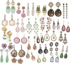 Jewelry ideas for Soft Summer /// DYT Type 2 Summer Color Palettes, Soft Summer Color Palette, Summer Colors, Do It Yourself Fashion, Color Me Beautiful, Soft Autumn, Soft Classic, Summer Jewelry, Season Colors