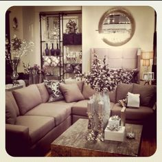 Grey/ Purple color scheme...funky, yet beautiful all at the same time!