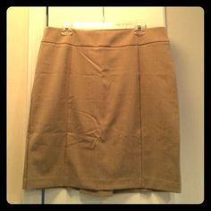 NY&Co business skirt. Skirt is a great camel color. Skirt will be steamed prior to shipping. New York & Company Skirts