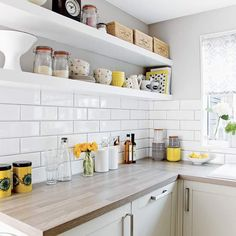 From dark and dated to light and super-stylish take a look at this amazing kitchen makeover