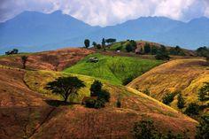 W poblizu granicy z Laosem, polnoc, Konkurs  Gory maja rozne rozmiary, TAJLANDIA