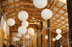 Rustic Barn Wedding*Angela Marie Events*Baton Rouge, LA #barnwedding #whitelanterns