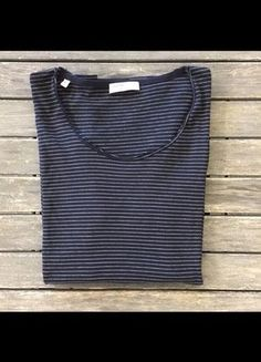 2b05fb760b8a T-shirt Zara Homme Taille Small Rayures Marine/Blanc Selected Homme