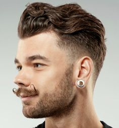 Wavy Hairstyles For Men - Hipster Wavy Hair