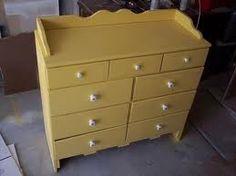Nice yellow dresser