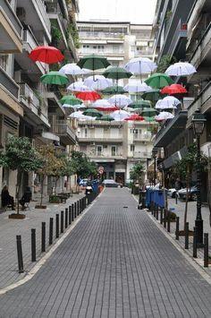 Θεσσαλονίκη 2013 - Thessaloniki Arts and Culture Travel Around The World, Around The Worlds, Greek Beauty, Beautiful Streets, Beautiful Places To Travel, Thessaloniki, Greece Travel, Amazing Destinations, Athens