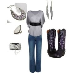 country Polyvore Outfits | Sophisticated Country, created by lauren-wild on Polyvore by stacey