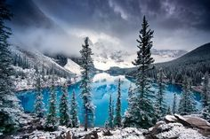 Morning blues Photo by Trevor Cole — National Geographic Your Shot