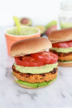 Whoa, that's a mouth full. A delicious mouth full. Really, that title should actually read Roasted Garlic Chipotle Cheddar Sweet Potato Quinoa Burgers with Avocado Ranch…… The cutest burger ever. So let's talk about how I am obsessed with the chipotle, cheddar, sweet potato, avocado flavors. I have been feeding them to my family at …