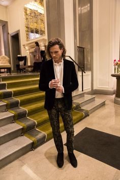 Dougie Poynter breaks down every item he wears to the shows at London Fashion Week Men's Autumn Winter 2017