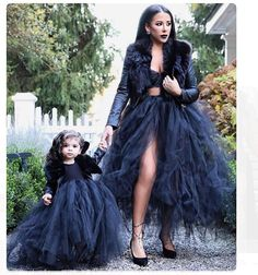 Black tulle skirts are a must haveShop the site| www.trinityrosecollection.com