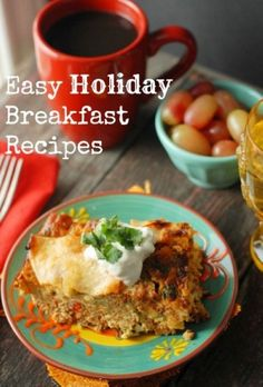 Easy Holiday Christmas Eve Breakfast Recipes, 2013 Christmas Homemade Breakfast Recipe, Christmas Food Ideas #2013 #christmas #eve #breakfast #recipe www.loveitsomuch.com