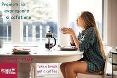 Promotii masive la expresoare, cafetiere si filtre de cafea  Coffee time! Intra acum pe http://roabadepromotii.ro/Produse/ si alege cele mai bune produse de facut cafea. O cafea pentru o dimineata mai buna.