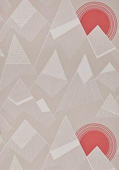 Miss Print wallpaper