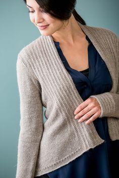 Pintucked Cardigan - Media - Knitting Daily