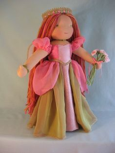 Erin, the Faery Princess Pattern... Again, love the long hair. This is a super cute doll all together