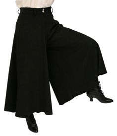 Sueded Riding Pants - Black [002813] // I want one!! :-)