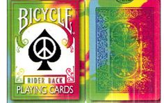 Bicycle Tie Dye Playing Cards. #playingcards #poker #games