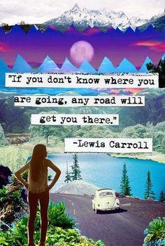Creo que un gran error que cometemos, en tenerle miedo al futuro si no sabemos hacia donde vamos o si no tenemos un plan que seguir.  Y, ¿cómo no podríamos tenerle miedo al futuro?, la vida es tan incierta que es natural sentir ansiedad cuando vamos caminando sin rumbo y, con lo que se siente,