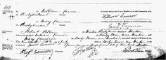 GenieQ: Fearless Females - March 9 - a marriage certificate