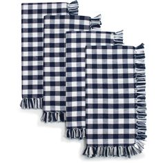 Picnic Check Napkins, Set of 4 | Sur La Table