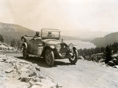 Looking east toward Donner Lake, Calif. (date unknown) http://ow.ly/r3EFG