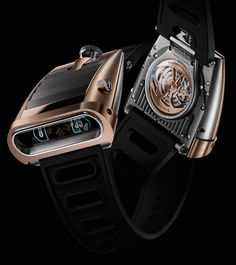 MB&F HM5 RT Watch - Gold