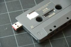 DIY USB Mixed Tape!  Now you can woo your sweetheart with sweet sounds even if they don't have a tape deck :)