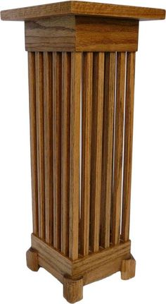 Handmade  Arts & Crafts style umbrella stand by FountainheadWoods, $345.00