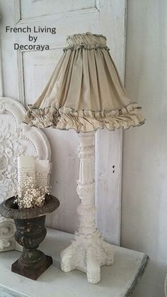 Old lampshade ..love it.. @Decoraya