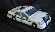 Police Car on Cake Central