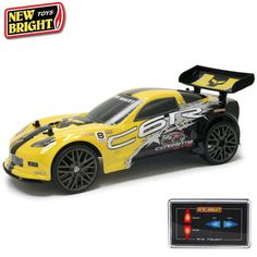 New Bright Full Function Radio Control Corvette Vehicle w/ Touch Screen Control