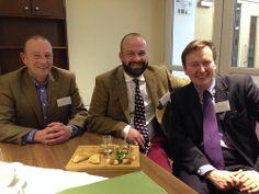 Great tasting Norfolk Food & Drink (and three local chaps championing the Norfolk Food & Drink Festival 2014).