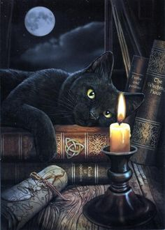 Witching Hour Greeting Card - Item Detail for CRD-GC36714B at Gryphon's Moon