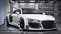 Audi super car. I'm In love.