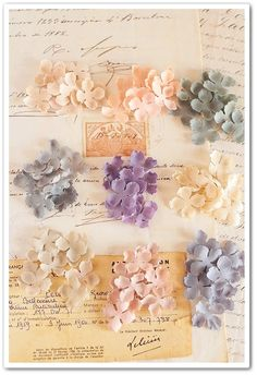 How to make Petit Ruban Paper Flowers Diy, Metal Flowers, Handmade Flowers, Felt Flowers, Flower Crafts, Fabric Flowers, Shabby Chic Flowers, Flower Corsage, Polymer Clay Flowers