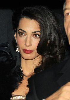Amal looks stunning.