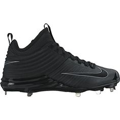 1caf45e71 Nike Lunar Vapor Trout 2 Black Mens Baseball Cleats 11 US     Learn more
