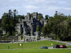 One of the most beautiful places on earth, Ashford Castle, Ireland, where the Asford river meets the sea. Kat & L. J. Martin