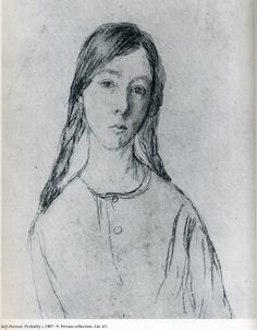 size: Giclee Print: Self Portrait by Gwen John : Entertainment Gwen John, Mary John, Female Portrait, Portrait Art, Woman Painting, Painting & Drawing, Illustrations, Illustration Art, Gouache