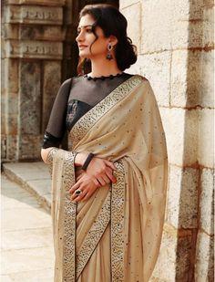 Party wear sarees : Saree With Blouse