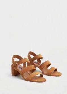 Leren sandalen met bandjes
